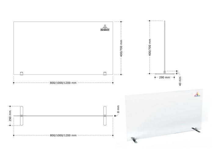 medidas modelo oficina